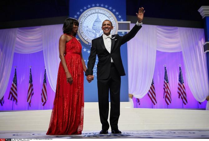 Mišel Obama na balu