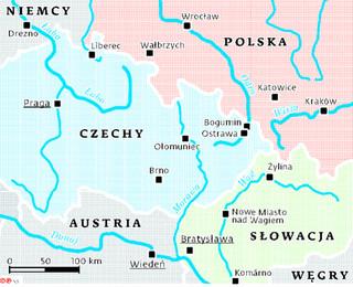 Statkiem z Krakowa do Wiednia: Gra o połączenie zlewisk Bałtyku i Morza Czanego