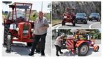 PET ZEMALJA, 11 DANA, 1.800 KILOMETARA Nemac na letovanje u Hrvatsku putovao TRAKTOROM