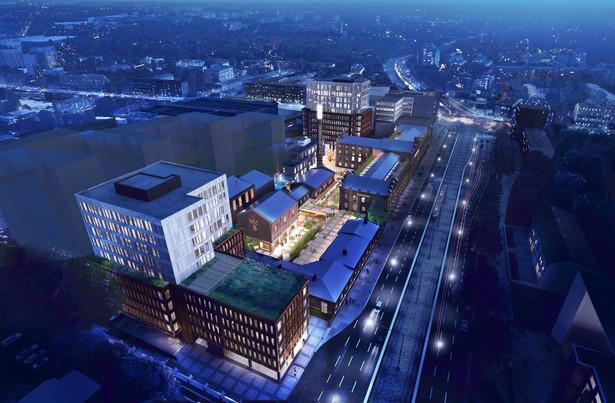 Monopolis to nowy projekt, który firma deweloperska Virako zrealizuje w centrum Łodzi. Oprócz olbrzymiej części biurowej, powstaną tu też przestrzenie dla ważnych wydarzeń kulturalnych, spędzania wolnego czasu i relaksu. Inwestycja jest zlokalizowana u zbiegu głównych arterii miasta – al. Piłsudskiego i ul. Kopcińskiego. Kompleks jest dobrze skomunikowany z dworcem Łódź Fabryczna oraz z lotniskiem. Dojazd do autostrady A1 zajmuje 10 minut. W pobliżu zespołu są przystanki łącznie 23 linii autobusowych i tramwajowych.