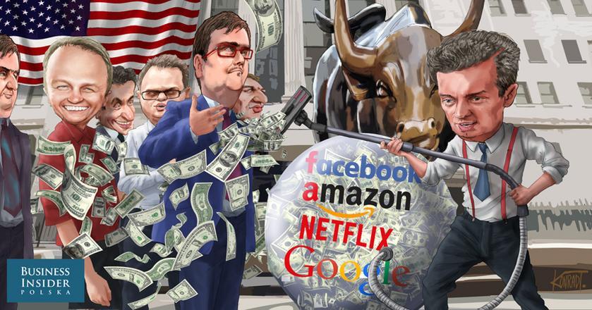 Spółki technologiczne kuszą inwestorów. Czy pompuje się bańka spekulacyjna w USA?
