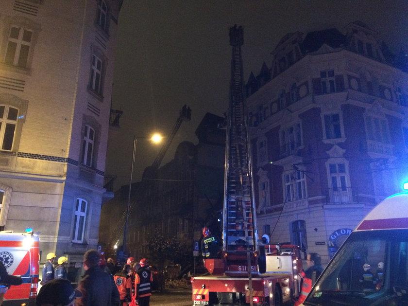Katowice. Wybuch gazu na ul. Sokolskiej