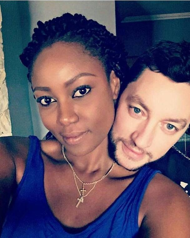 Yvonne Nelson and baby daddy finally spotted together