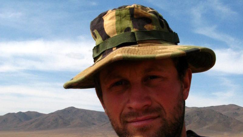 Paweł Kilen w Mongolii