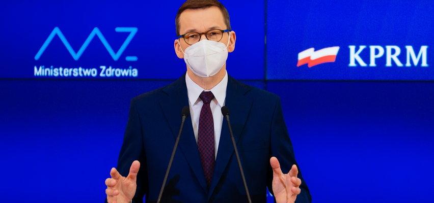 Morawiecki: grozi nam czwarta fala epidemii
