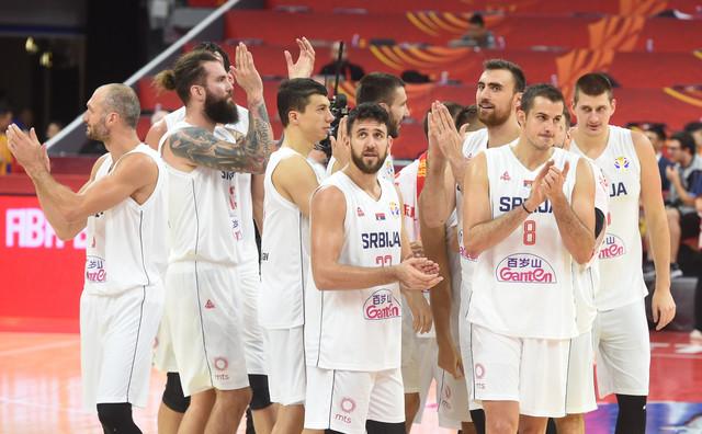 Reprezentativci Srbije posle utakmice sa Filipinima