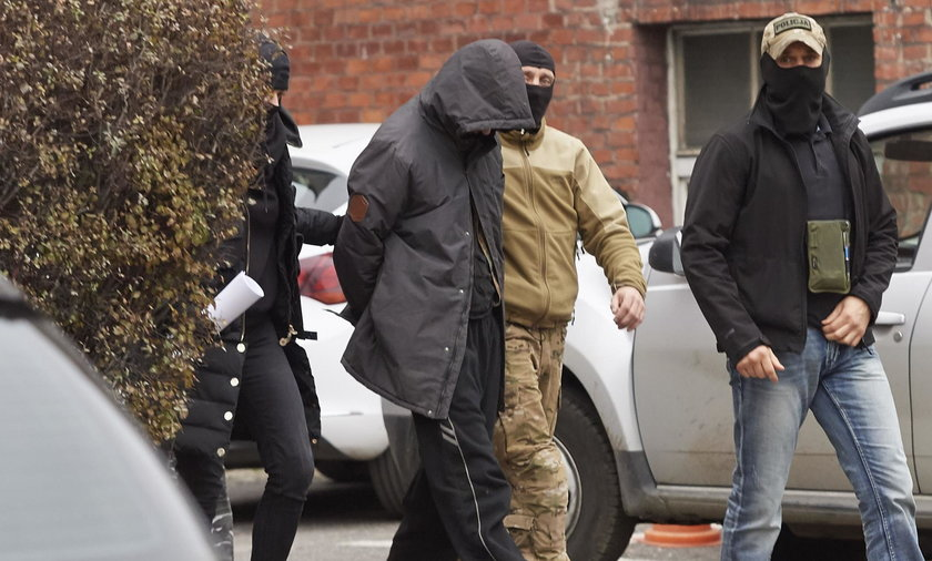 Dariusz R. został zatrzymany we wtorek 7 listopada