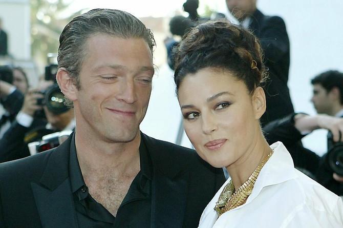 Kasel sa bivšom suprugom Monikom Beluči