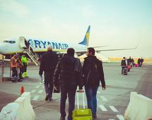 Ryanair to największa linia lotnicza na polskim rynku