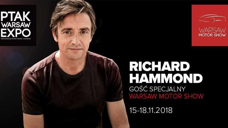 Richard Hammond w Warszawie