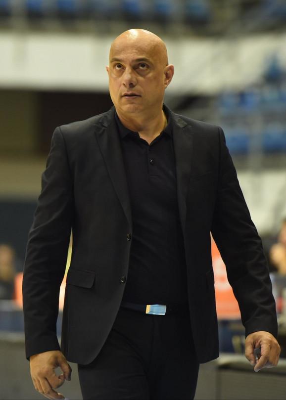 Raško Bojić, trener Čačana