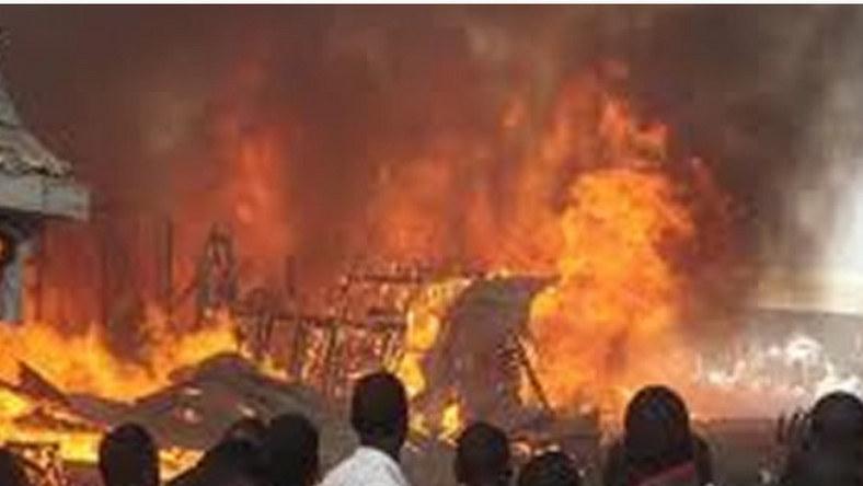 Fire Outbreak at Lagos Airport Hotel (Punch)