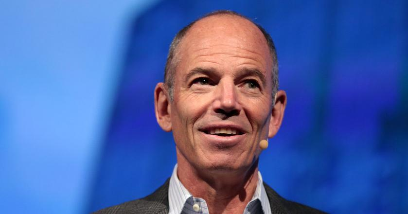 "Marc Randolph to współzałożyciel Netfliksa i autor książki ""That Will Never Work: The Birth of Netflix and the Amazing Life of an Idea"""