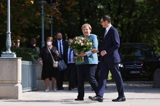 Angela Merkel w Polsce. To jej ostatnia podróż jako kanclerz Republiki Federalnej Niemiec