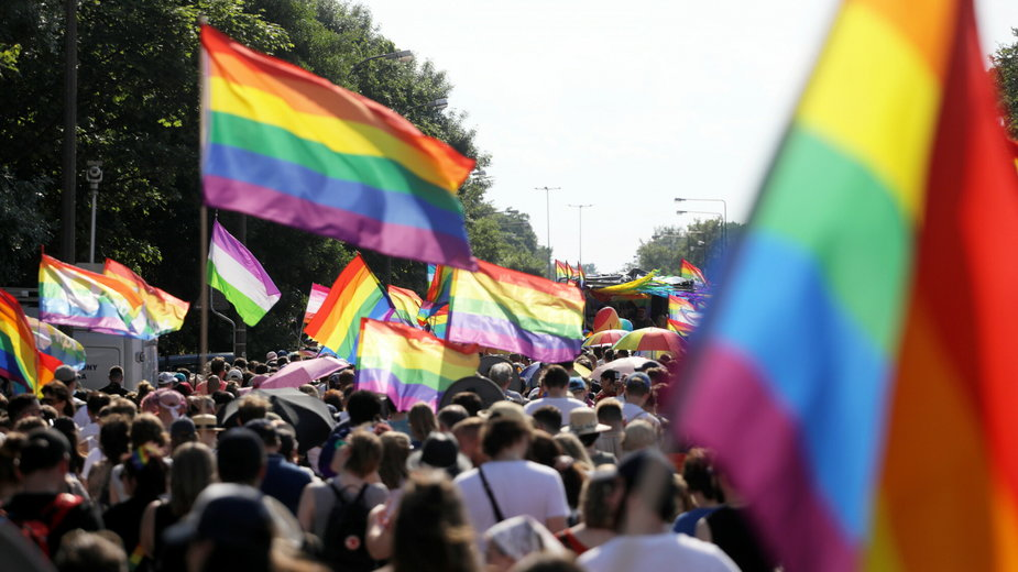 Parada Równości w Warszawie, 2021