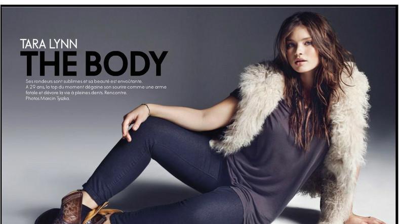 Tara Lynn, piękna modelka promuje większy rozmiar