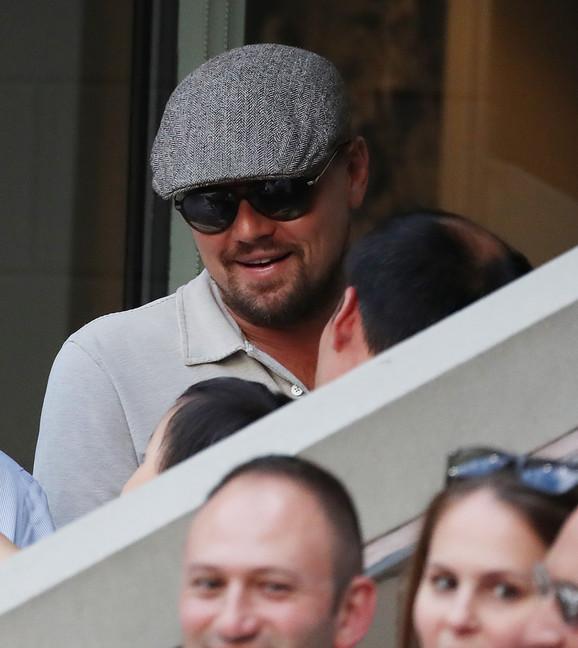Leonardo Dikaprio svake godine gleda mečeve Novaka Đokovića na US Openu