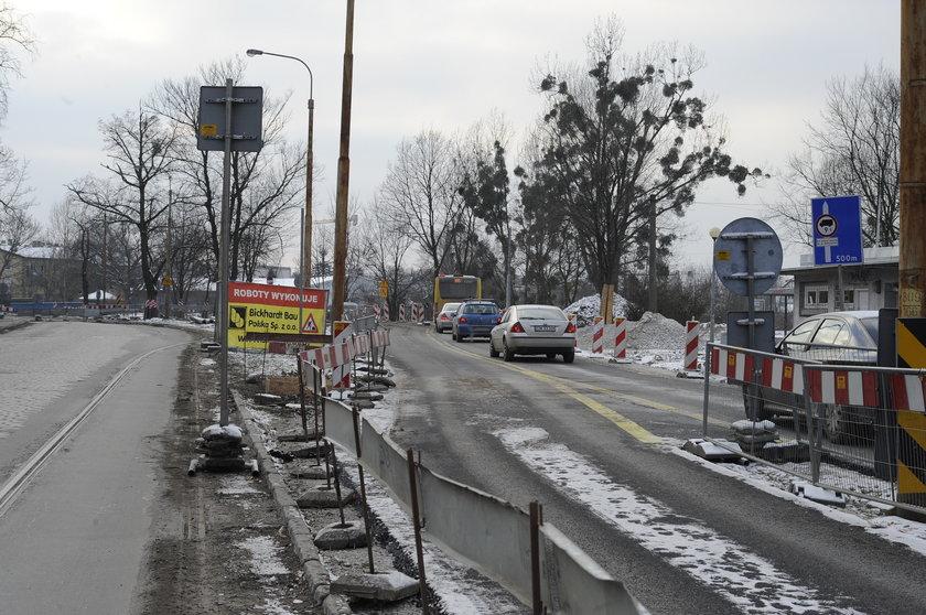 Utrudnienia przez remont ul. Przyjaźni we Wrocławiu