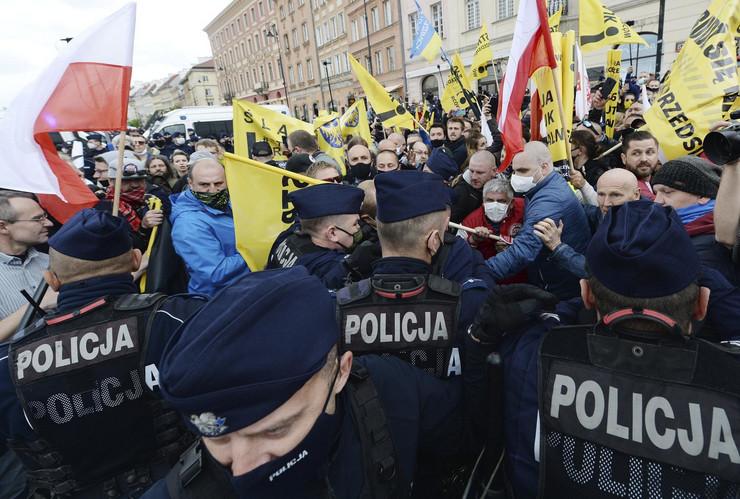 Varšava, protest