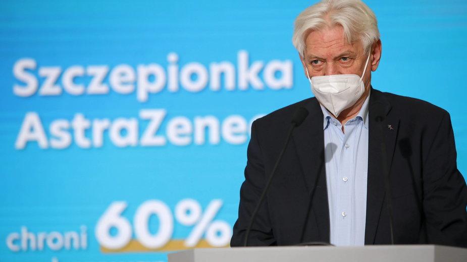 ZNP odniósł się do wypowiedzi Horbana o szczepieniach