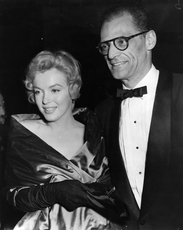 Marilyn Monroe i Arthur Miller (fot. Getty Images)