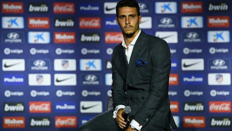 Atletico Madrid unveiled their latest signing Mario Hermoso
