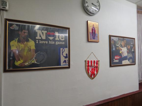 Noletove slike krasi zid kafane