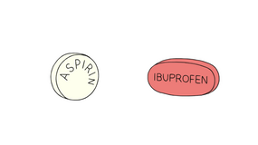 Jak aspiryna i ibuprofen wpłwają na nasze ciała?
