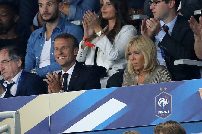 Prvi par Francuske i poznati par red iznad