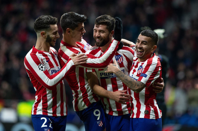 Radost fudbalera Atletiko Madrida