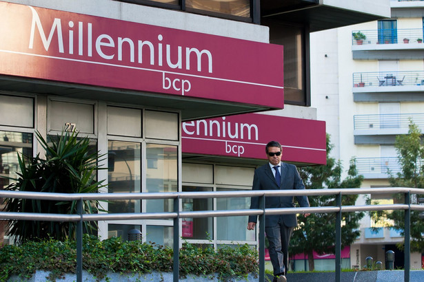 <p>Bank Millennium należący do Banco Comercial Portugues</p>