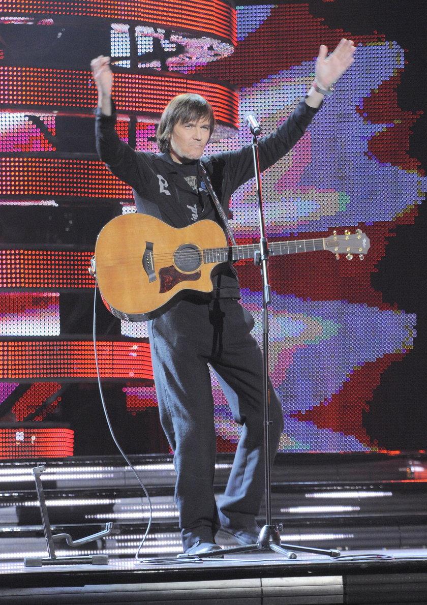 Robert Gawliński na scenie