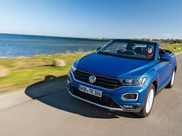Volkswagen T-Roc Cabrio – tak jeździ nowa odmiana SUV-a
