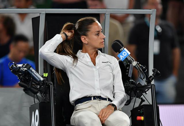 Marijana Veljović je sudila finale Australijan opena