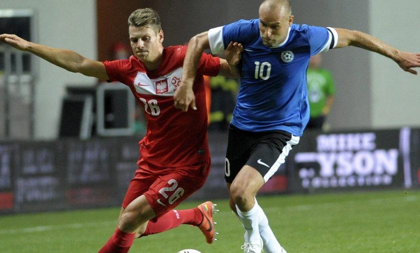 Piłkarze tłumaczą się po porażce z Estonią