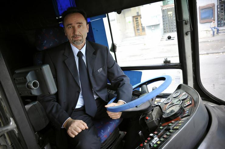 Vozač autobusa Radomir Gordić