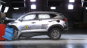 Hyundai Tucson, Mazda MX-5 i Opel Karl w teście Euro NCAP