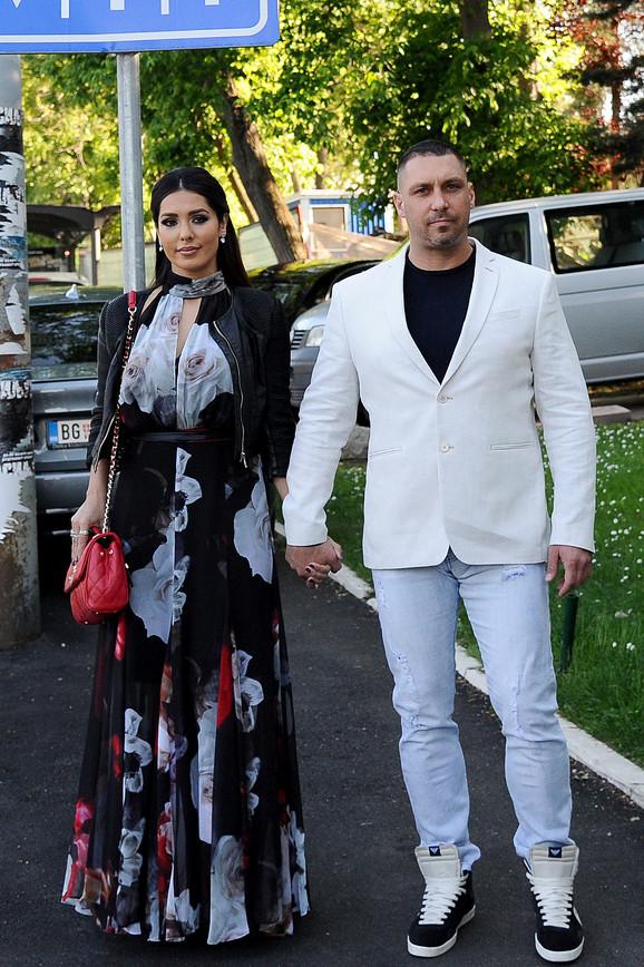 Tanja sa suprugom Dušanom