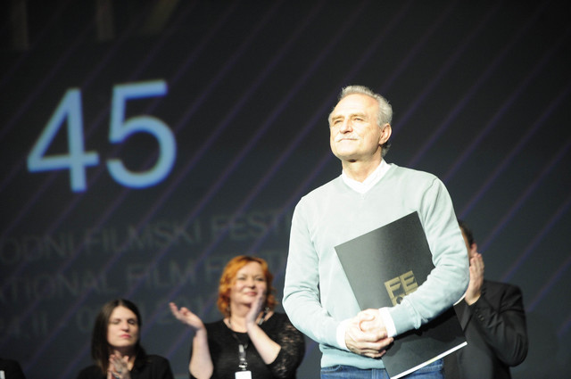 Nagrada za najbolju mušku ulogu pripala je Lazaru Ristovskom