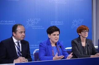 Premier Szydło na szczycie w Goeteborgu: podpisaliśmy ważny dokument