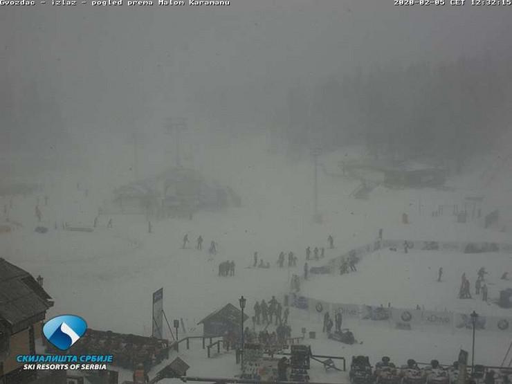 Kopaonik, oluja, sneg