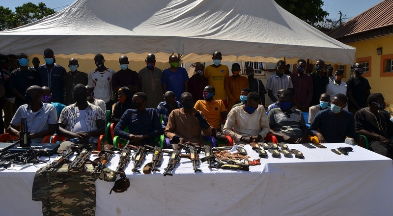 Police in Bauchi parade 20 suspects of various criminal activities