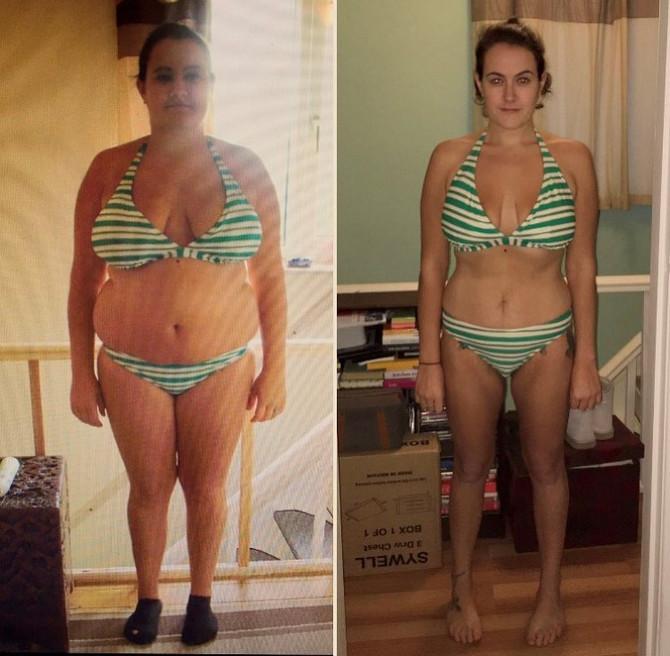 Smršala je 40 kilograma za 11 meseci