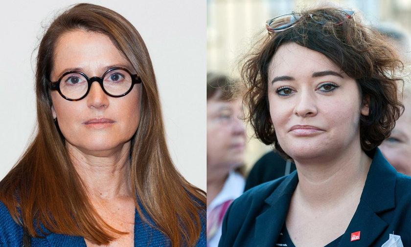 Monika Jaruzelska i Maria Żukowska
