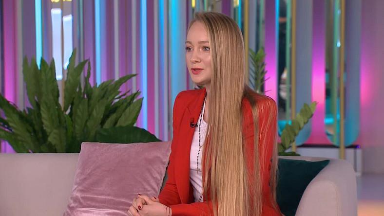 Długie włosy Jessiki Bigus
