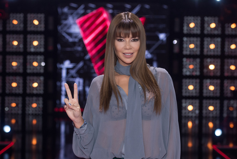 "Edyta Górniak w ""The Voice of Poland"""