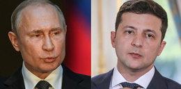 Władimir Putin zapowiedział spotkanie z prezydentem Ukrainy Wołodymyrem Zełenskim