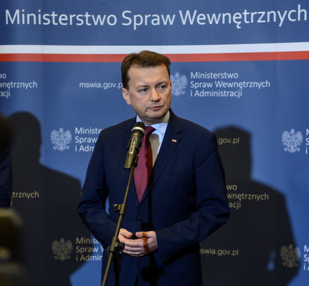 Minister spraw wewnętrznych i administracji Mariusz Błaszczak, PAP/Jakub Kamiński
