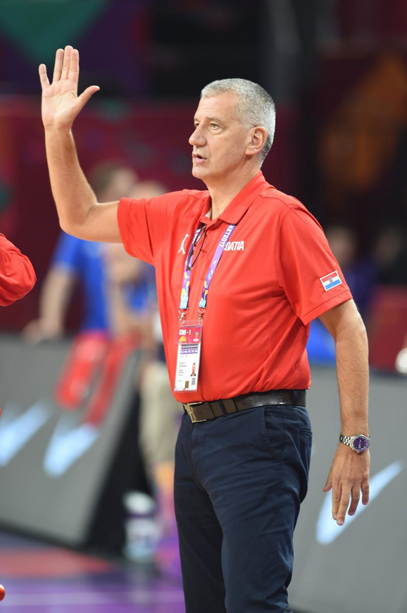Aco Petrović je 1995. godine bio selektor košarkaša Hrvatske