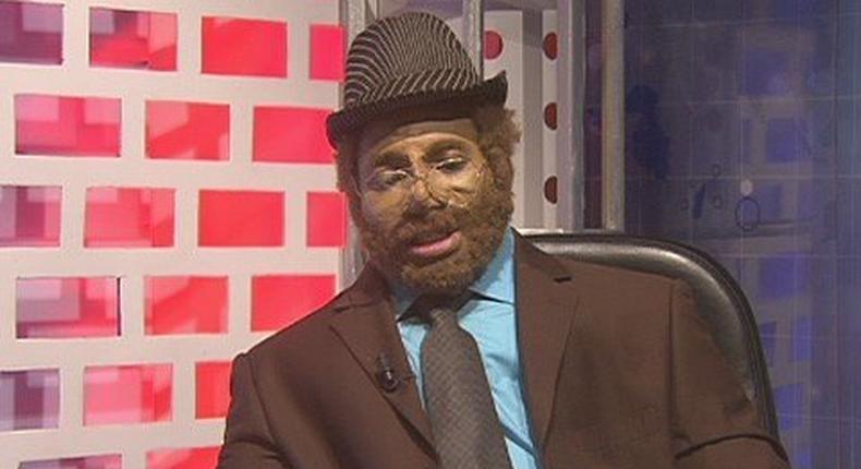 Disguised Anas Aremeyaw Anas
